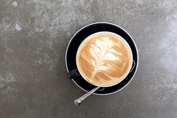 Cappuccino, Brick Bay Vineyards, Matakana, New Zealand