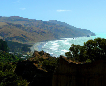 NZ: Cathedral Cliffs, Canterbury