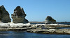 I don't know what these limestone formations are called but they look like photos of Oregon's sea stacks.