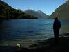 Lake Gunn, on the Milford Road.