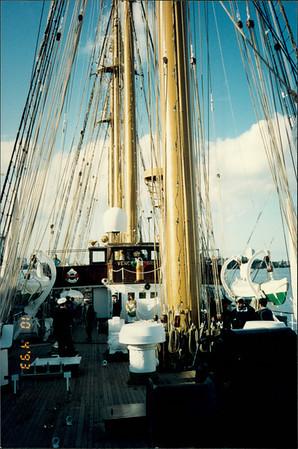 "Auckland: Training ship ""Esmeralda"""