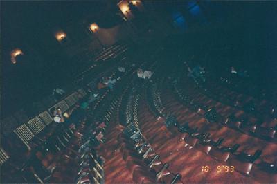 Auckland: Civic Theatre (extravagant art noveau movie theater) - saw Tina Turner movie
