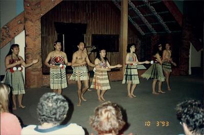Auckland: War Memorial Museum - Maori presentation