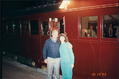Melbourne: Colonial Tram Car - proior to seating for dinner
