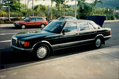 Cairns: limo pickup - Mercedes 420SEL