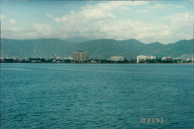 Cairns: Quicksilver Outer Reef Cruise - city view