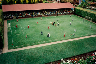 Canberra: Cockington Green - football pitch (soccer)