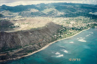 Honolulu: Papillon Helicopter Tour of the island - Diamond Head