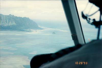 Honolulu: Papillon Helicopter Tour of the island - Chinaman's Hat