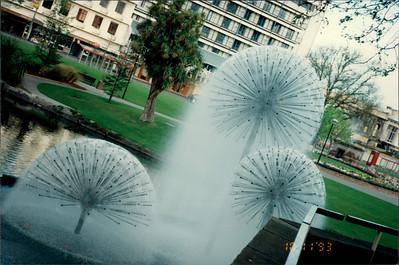 Christchurch: park - fountains