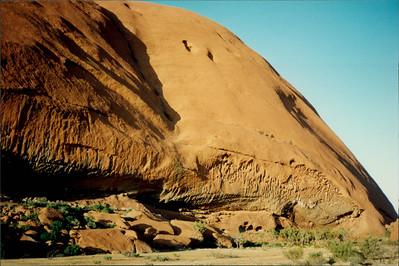 Ayers Rock: Aboriginal sacred ground
