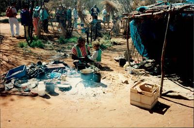 Alice Springs: Dreamtime and Bushtucker Tour - Aboriginal home