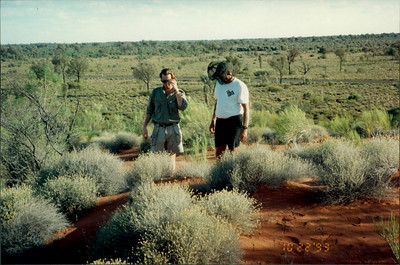 Ayers Rock: Uluru Experience - Micheal explains outback vegetation
