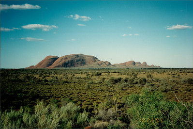 Ayers Rock: the Olgas