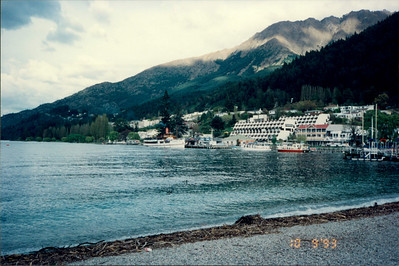 Queenstown Bay: quaint village