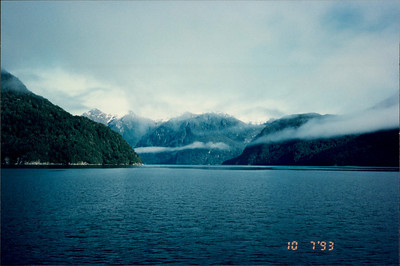Doubtful Sound: Lake Manapori