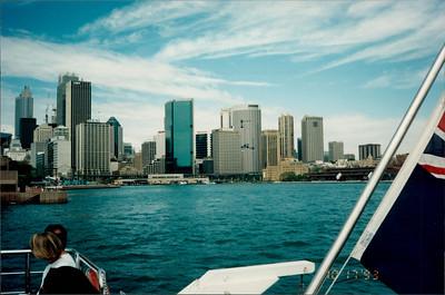 Sydney: morning tea cruise - city skyline