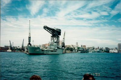 Sydney: morning tea cruise - Garden Island Naval Base