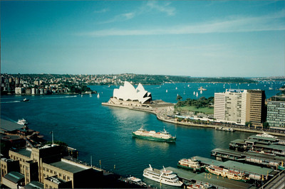 Sydney: Regent Sydney - view of Opera House from hotel room