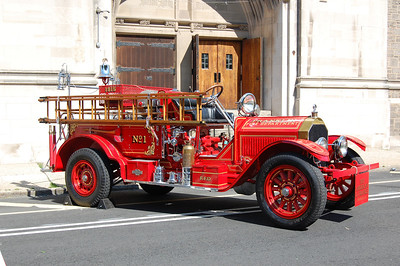 Franklin Antique 1915 American LaFrance 300Gpm Photo by Chris Tompkins