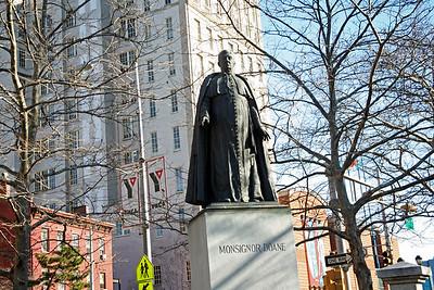 Statue of Monsignor Doane in Newark, NJ