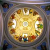 Interior of The Dome of St. Lucy's Church in Newark, NJ