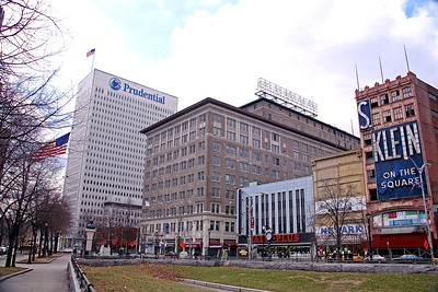 View of Downtown Newark from Military Park