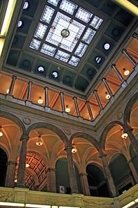 Atrium of Newark Library