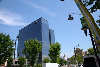 Prudential Tower in Downtown Newark
