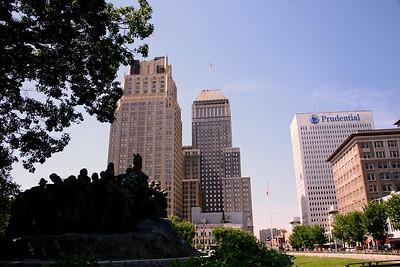 Main Business District of Newark, NJ