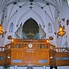 Organ in St. Patrick's Pro-Cathedral in Newark
