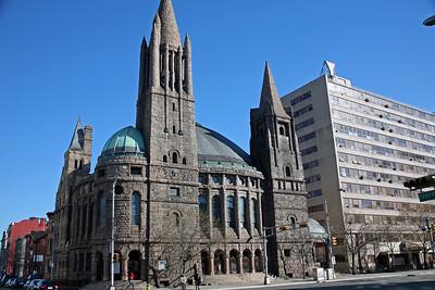 First Baptist Peddie Memorial Church in Newark, NJ