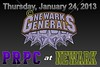 Thursday, January 24, 2013 - PRPC Prowlers at Newark Generals