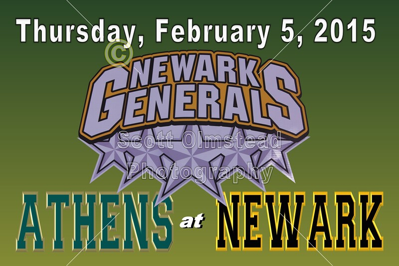 Senior Night - Athens Bobcats at Newark Generals - Thursday, February 5, 2015