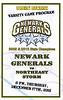 Official Game Day Program - Northeast Storm at Newark Generals - Thursday, December 17, 2015