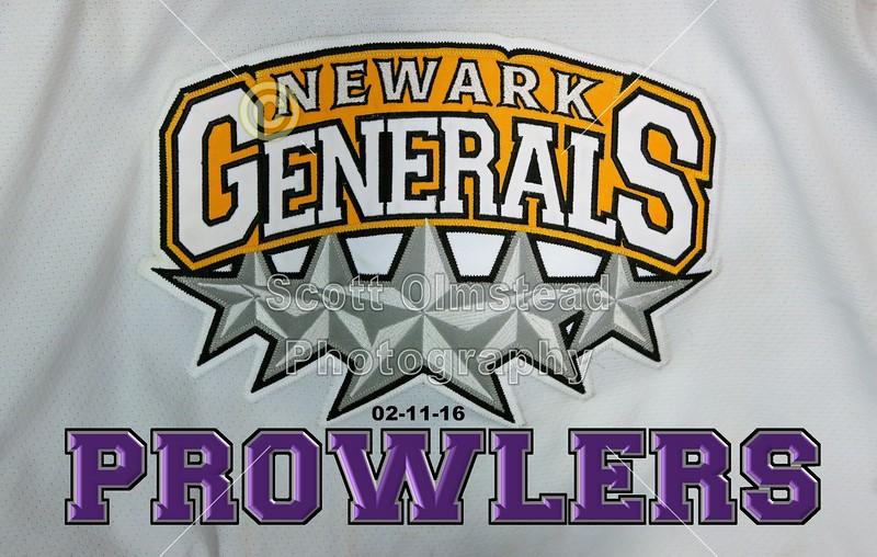 PHA Prolwers at Newark Generals - Senior Night - Greater Columbus High School Club Hockey League - Thursday, February 11, 2016