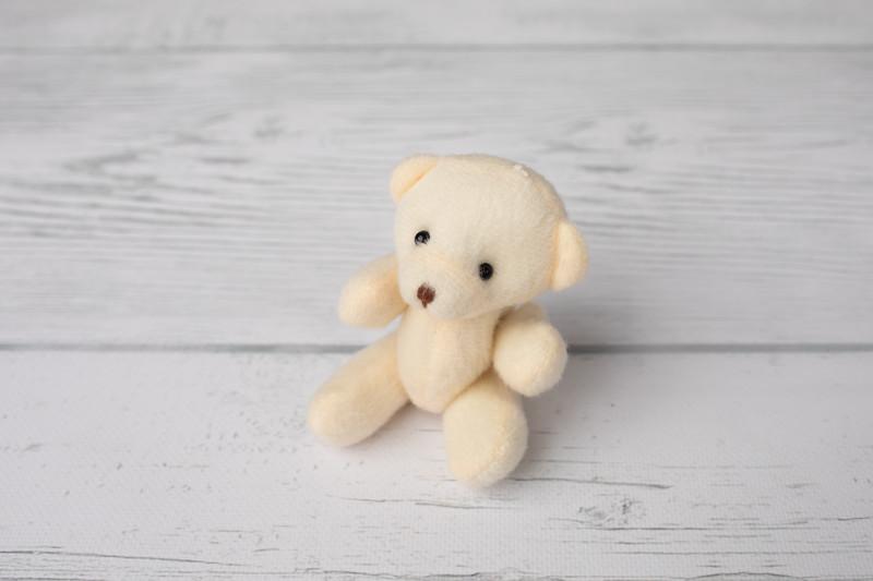 Tiny Cream Teddy Bear