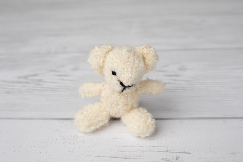 Cream Tiny Bear