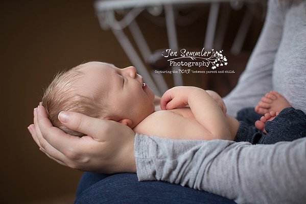 Newborn Photography by Jen Semmler Photography in Rochester, NY