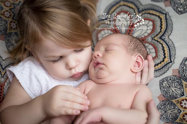 Newborn Photography by Jen Semmler Photography in Rochester, NY