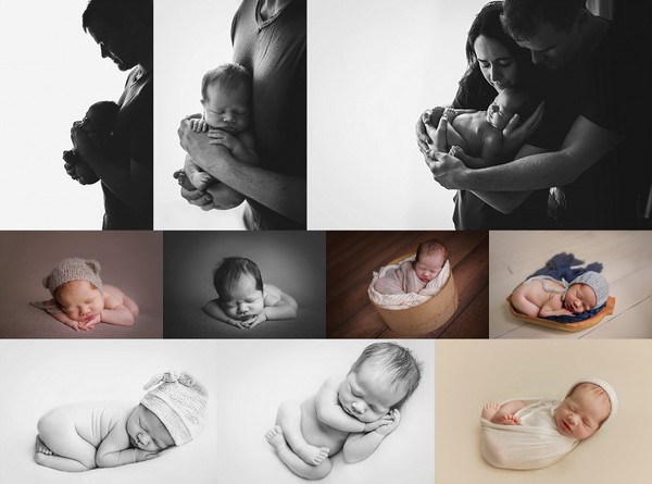 Creative baby photography