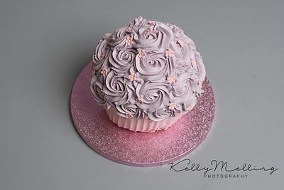 Fun girls cake smash preston Lancashire