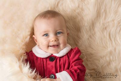 newborn baby photography preston christmas photography