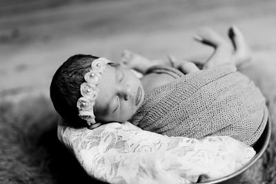 00406--©ADHPhotography2020--Miller--Newborn--January15bw