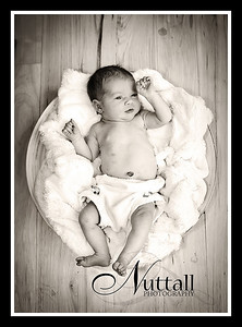 Adalynn Newborn 097bw