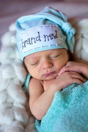 Everett {newborn session}