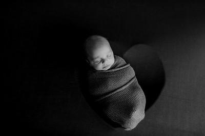 00007©ADHPhotography--JASEKHEGWOOD--NEWBORN--APRIL29bw