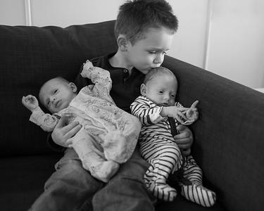 Joseph & Eli- Newborn