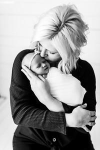 00011--©ADHPhotography2020--MaddynSharp--Newborn--February21bw