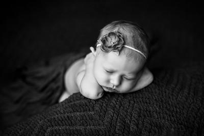 00068--©ADHPhotography2020--MaddynSharp--Newborn--February21bw